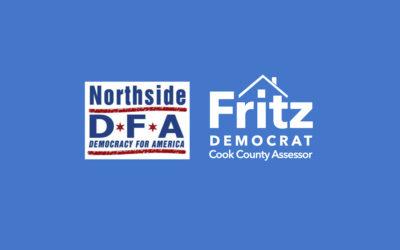 Northside DFA endorses Fritz Kaegi for Cook County Assessor