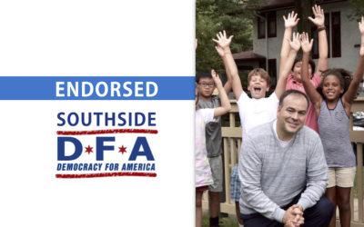 South Side Democracy for America endorses Fritz Kaegi for Assessor