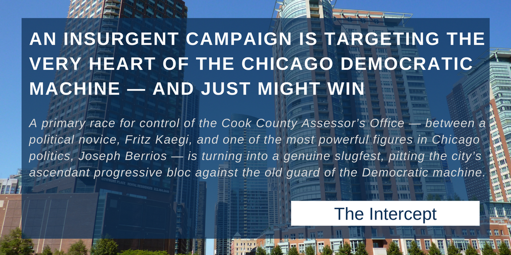 An Insurgent Campaign is Targeting the Very Heart of the Chicago Democratic Machine — And Just Might Win